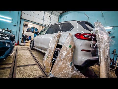 Первый выезд на BMW из столба. Ваня держись!