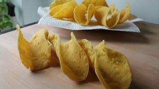 Taco Shells Selber Machen (Rezept)  Homemade Taco Shells (Recipe)  ENG SUBS
