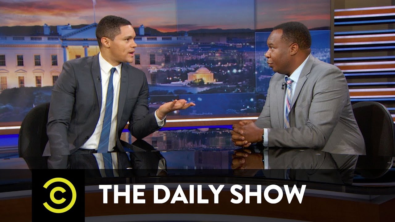 Donald Trump Tries to Woo Black Voters: The Daily Show ...  Donald Trump Tr...