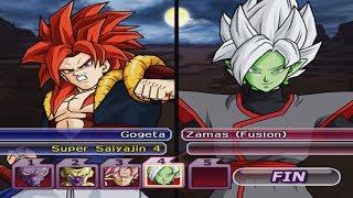 (Very Hard) 1x4 - Gogeta SSJ4 VS Villains DBS - Dragon Ball Z Budokai Tenkaichi 4