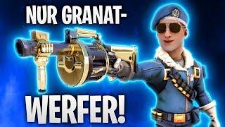 NUR GRANATWERFER! UNMÖGLICH! 🥚   Fortnite: Battle Royale