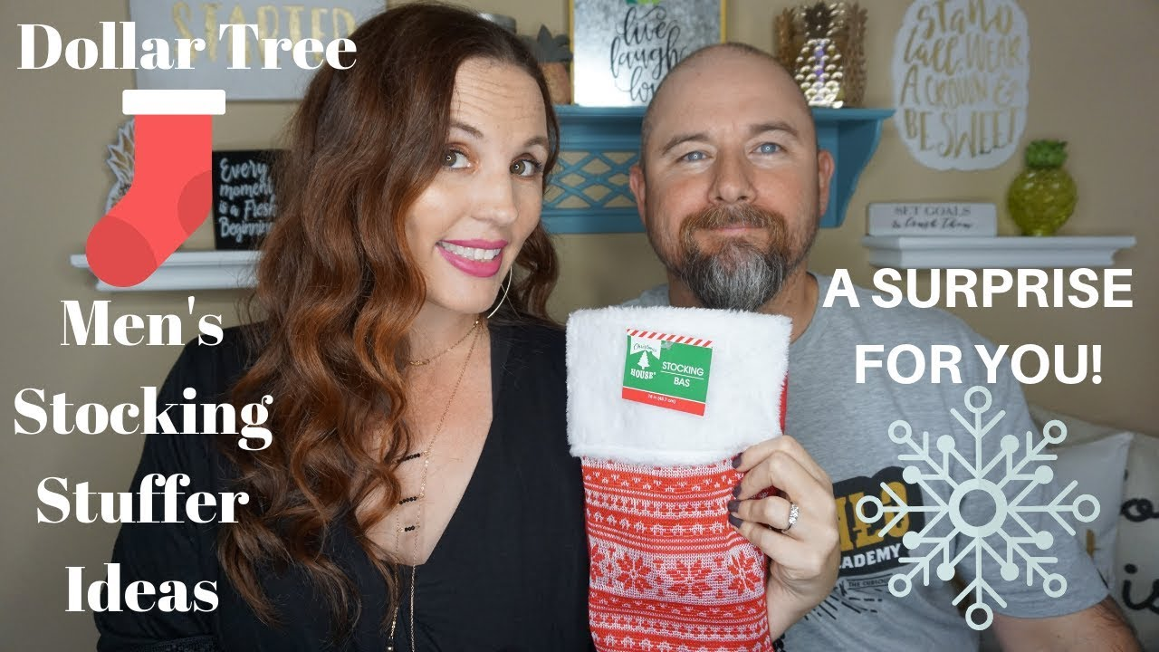 Dollar Tree Men S Stocking Stuffer Ideas A Surprise For You Youtube