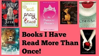 Books I Have Read More Than Once!
