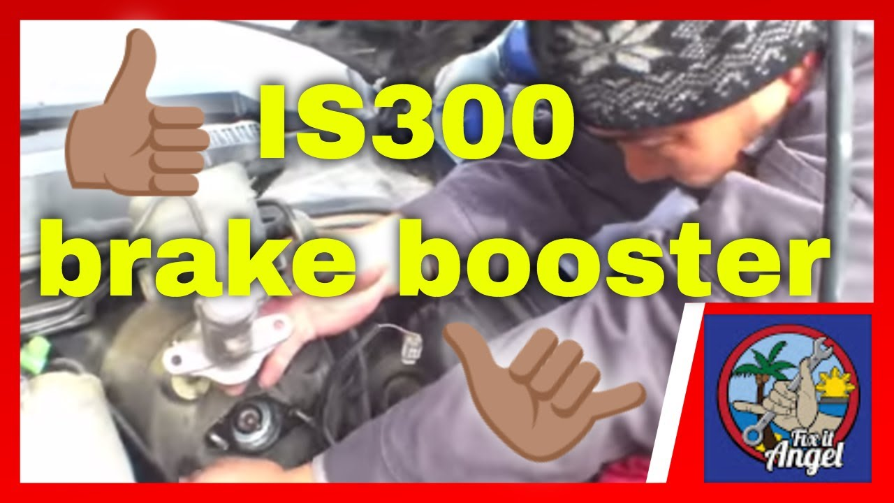 small resolution of power brake booster replacement lexus is300 fix it angel