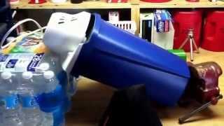 wet tumbling brass with an icecream maker