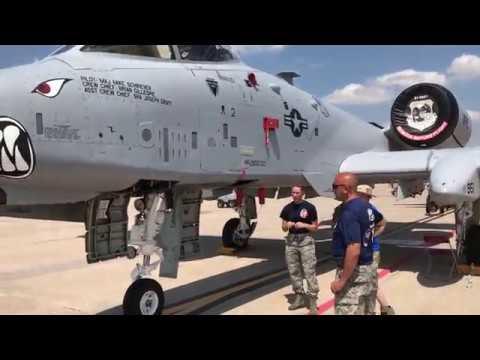 A-10 walk around at Whiteman AFB
