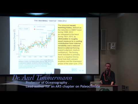 IPCC Report Climate Change 2013: Briefing by Lead Authors at University of Hawaii