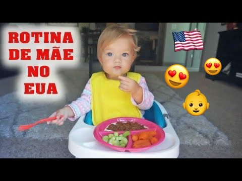 (VLOG) MINHA ROTINA DE MÃE NO EUA (COMIDINHA, PARQUINHO ,FOFURA)