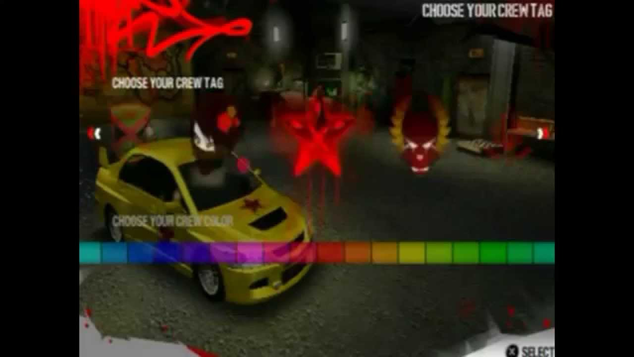 Need For Speed Carbon Own The City Psp Part 1