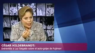 César Hildebrandt: Entrevista a Luz Salgado el 5 de abril del 2002