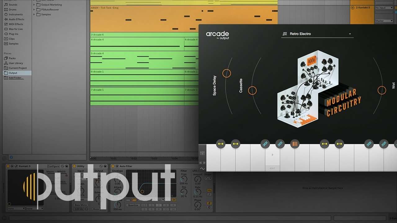 ARCADE by Output - Make A Track In 6 Minutes