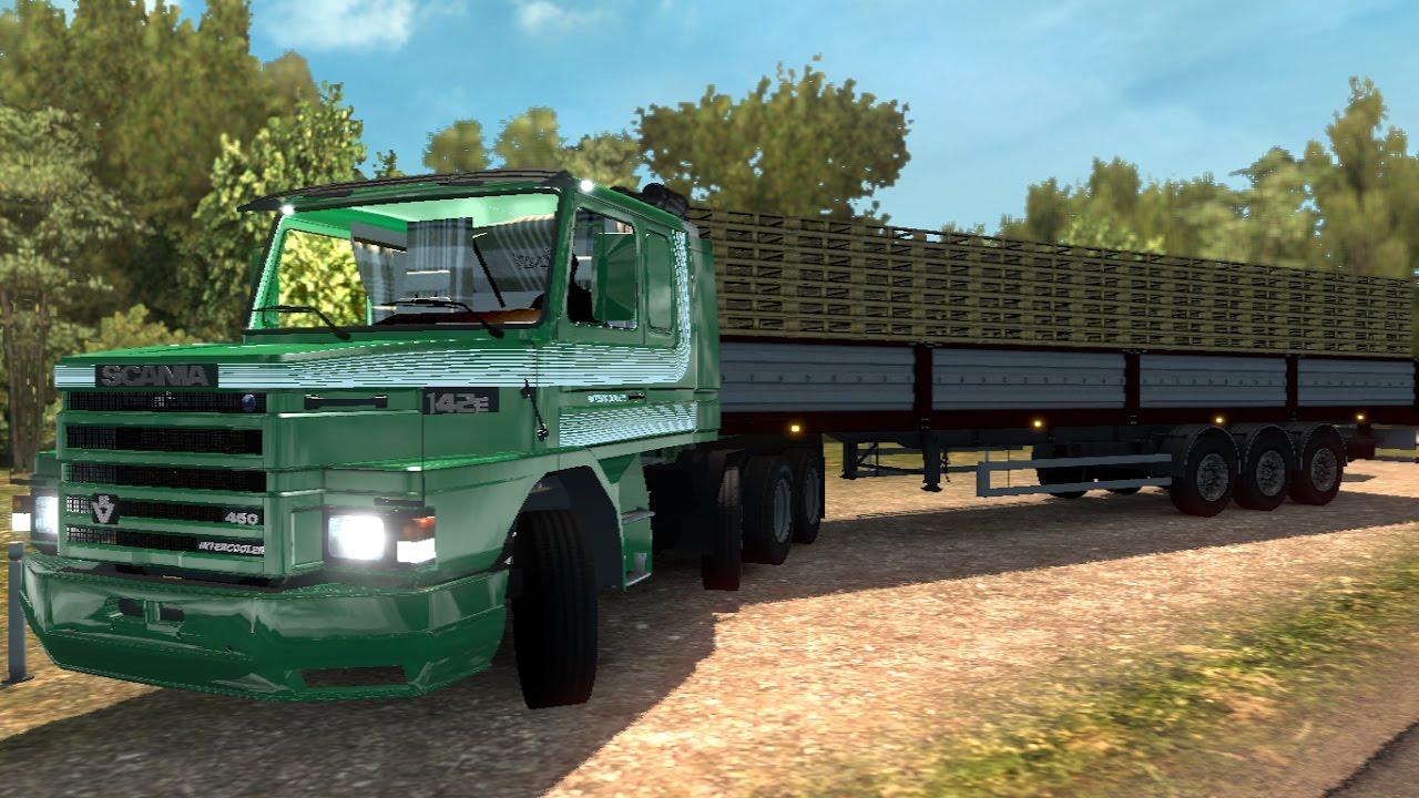 V8 illegal reworked truck v5 0 simulator games mods download - Euro Truck Simulator 2 Mods Scania 112 142 1 27
