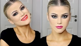 GRWM | Latin & Ballroom Dance Competition Makeup | Two Lip Options