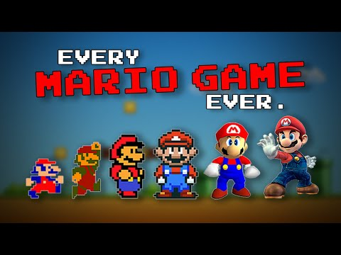 Every Mario Game Ever (1981-2020)