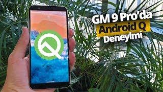 Android Q neler sunuyor? - GM 9 Pro'ya Android Q Beta kurduk!