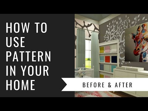 Arianne Bellizaire Interiors Design Presentation: How To Use Pattern In Home