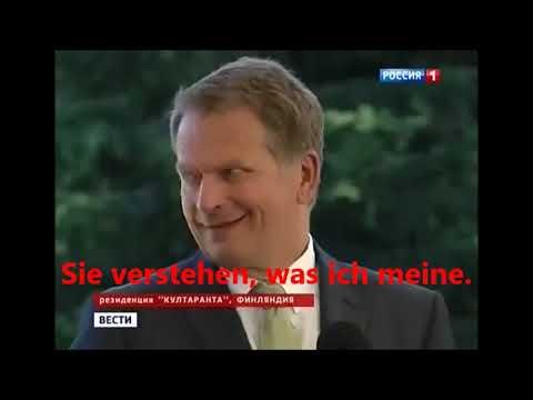 Putin zur Frage der Homosexuellen