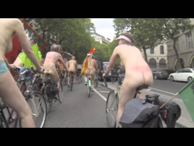 London World Naked Bike Ride 2014