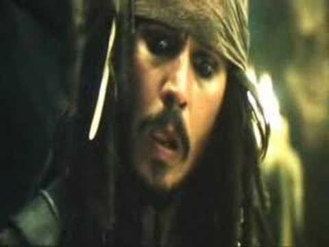 Keith Richards In Pirates of the Caribbean: At World's End.