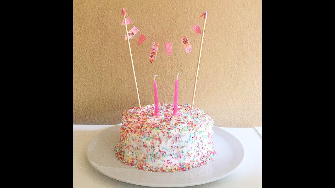 Estremamente Torta per compleanno (susy 2 anni ) - YouTube PS11