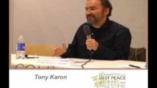 Tony Karon -- Zionism Reconsidered Part 1