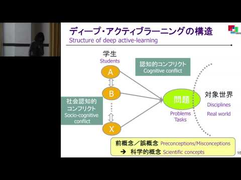 """Pedagogy for active and deep learning""Kayo Matsushita (Kyoto University)"