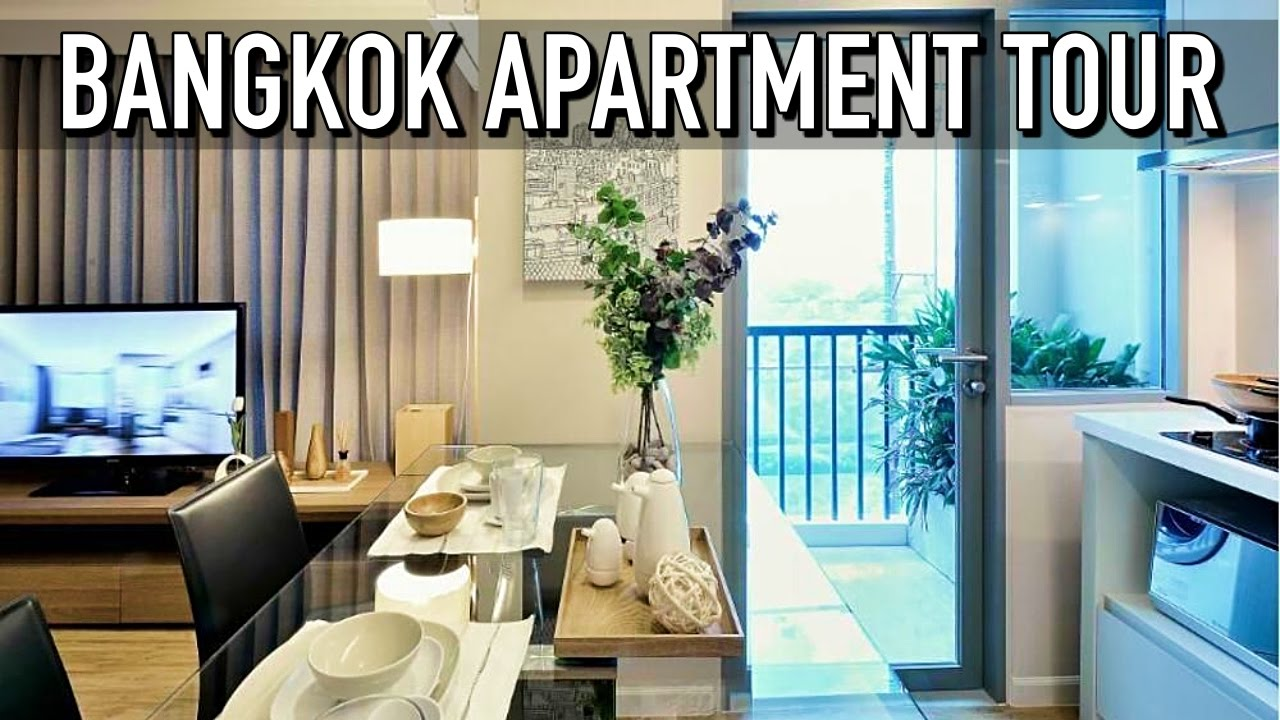 BANGKOK APARTMENT TOUR! - YouTube