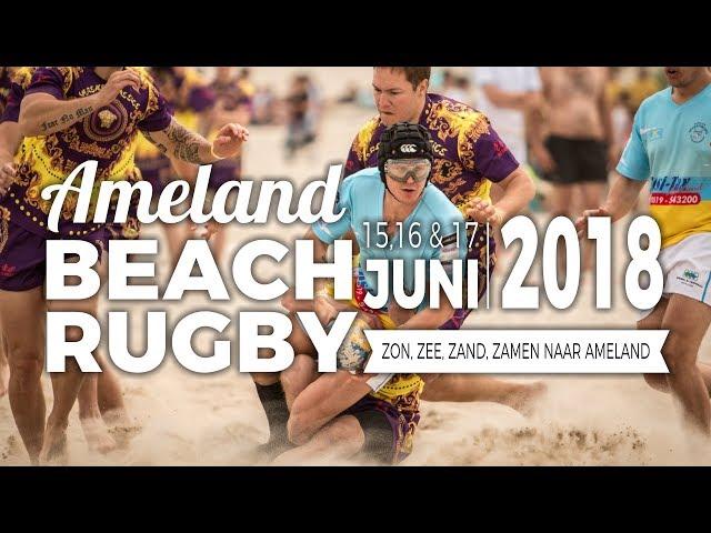 Beach Rugby Ameland 2018