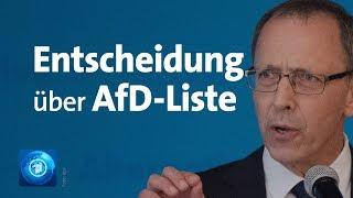 Streit um Kandidatenliste: Teilerfolg für AfD in Sachsen