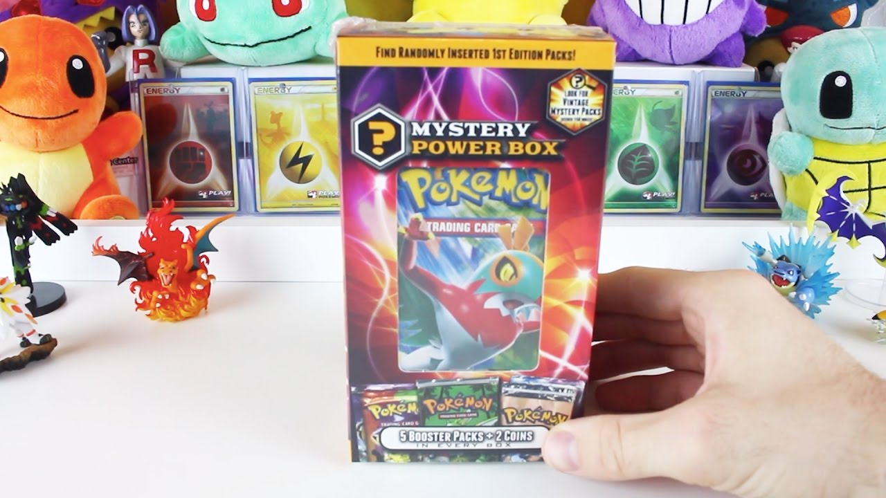 9f2ed90cd4 Opening a Walmart Mystery Power Box! | Pokemon Cards - YouTube