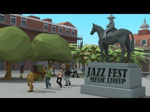 Official Jazz Fest 2014 Talent Announcement Video
