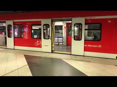 Subway Ride in Munich Germany