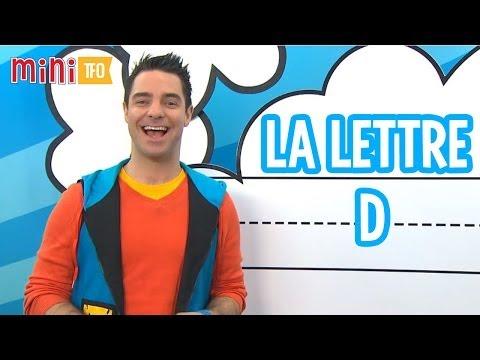 L'écriture des lettres : La lettre D