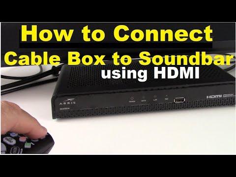 can you hook up soundbar to a receiver