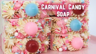Carnival Candy Soap -  Spicy Pinecone