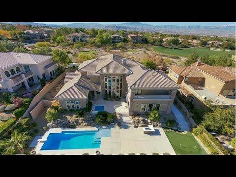 Anthem Country Club Henderson | $2.2M | 7,458 Sqft | 7 BD | 7 BA | Pool | Golf & Basketball Court