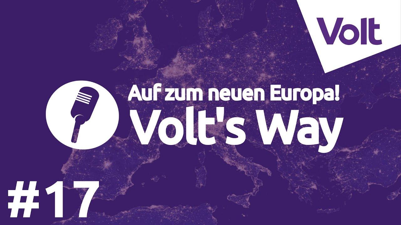 YouTube: #Europecares - Auf zum neuen Europa - Volt´s Way