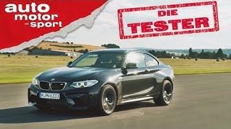 BMW M2: So muss das sein! - Die Tester | auto motor und sport