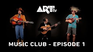 David Hamburger Performing Red River Valley - ARTtv MUSIC CLUB