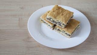 Пирог с рыбой и картошкой. Быстрый и вкусный рецепт