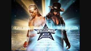 WWE Wrestlemania 25 Shawn Michaels Vs Undertaker Poster Link   In (HD)