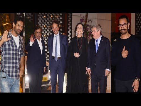 Bollywood Celebs At Nita Ambani's GRAND Party For International Olympic Committee