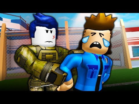 THE LAST GUESTS ARRESTS OFFICER ROOFUS?! ( A Roblox Jailbreak Roleplay Story)