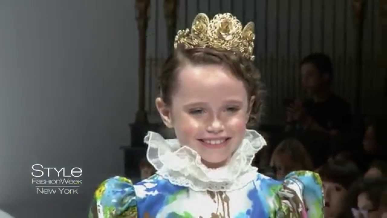 Nancy Vuu Ss16 Kids Runway Show During Style Fashion Week Ny Gotham Hall Youtube