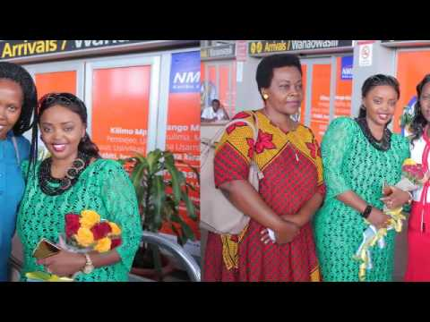 Arrival in Daresalaam Tanzania Julius Nyerere International Airport!