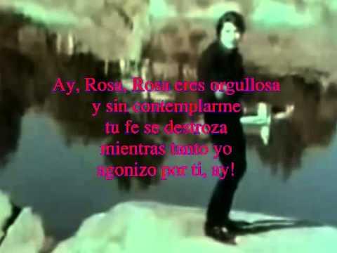 SANDRO ROSA ROSA (LETRA)