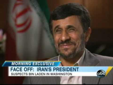Iran President Mahmoud Ahmadinejad: Osama Bin Laden Is in Washington, D.C.