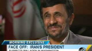 Iran President Mahmoud Ahmadinejad: Osama Bin Laden Is in Washington, D.C.