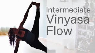 Lululemon Ambassador Free yoga class (Intermediate Vinyasa Flow)  With Fightmaster Yoga