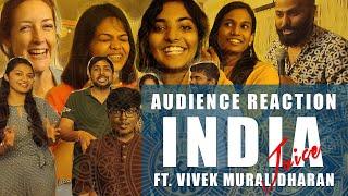 India Juice | Audience Reactions ft. Vivek Muralidharan